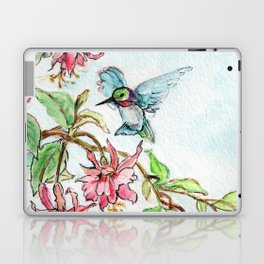 Honeysuckle Hummingbird Laptop & iPad Skin