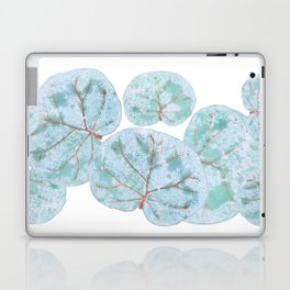 Sea Grape Tropical Leaves Laptop & iPad Skin