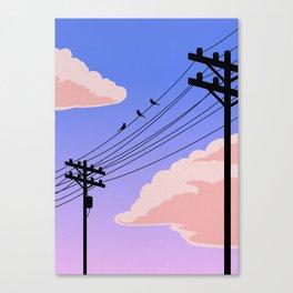 Evening Skyline Canvas Print