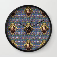 shakespeare Wall Clocks featuring William Shakespeare by Glenn Designs