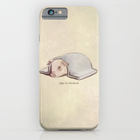 Pigs In Blankets iPhone & iPod Case