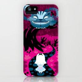 Cheshire smile iPhone Case