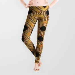 African BaKuba Leggings