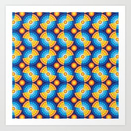 Microphysical 06.1 Art Print