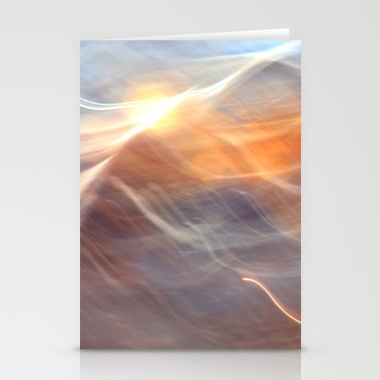 Earth , Wind & Fire (abstract) Stationery Cards