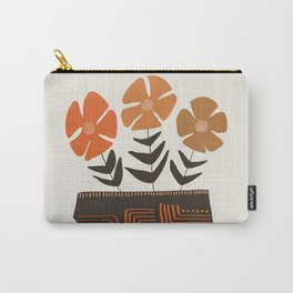 Floral vibes II Carry-All Pouch