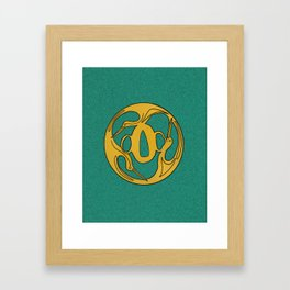 Giant Jewelry Framed Art Print