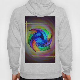 Abstract in perfection - Cube 5 Hoody