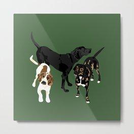 Nicky, Petunia and Lil Joe Metal Print