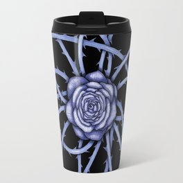 Rose Adversity Art Travel Mug