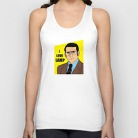will ferrell Tank Tops featuring I love lamp - Brick Tamland by Buby87