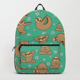 Cute Sloth Yoga Backpack