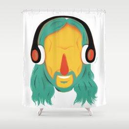 David! Shower Curtain