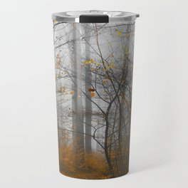 The Grey and the Yellow - Moody Forest in Fal Travel Mug
