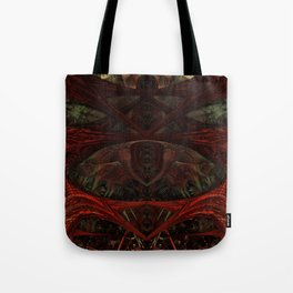 Xeno Blood Red Tote Bag