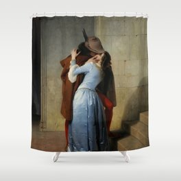 Francesco Hayez, The Kiss, 1859 Shower Curtain