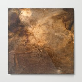 Coffee Universe Metal Print