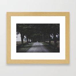 I think I felt it... Framed Art Print