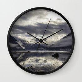 Fjaerlandsfjorden Wall Clock