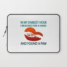 FOUND A PAW Laptop Sleeve