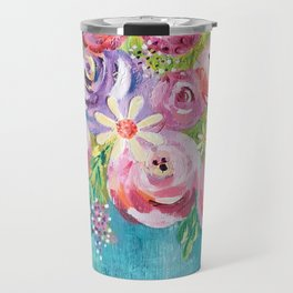 Fleurissez Travel Mug