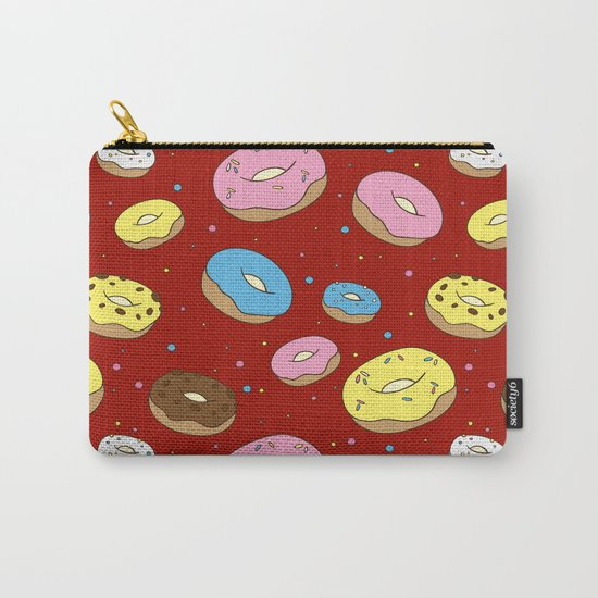 Cute Donuts Carry-All Pouch