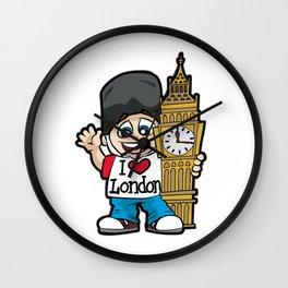 I LOVE LONDON Big Ben City United Kingdom Brexit Wall Clock