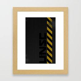 UNSC Hardcase Framed Art Print