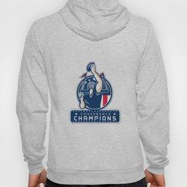 Football Conference Champions New England Retro Hoody