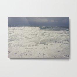 rough sea Metal Print