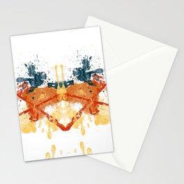 Personality Test: Orange Blot Stationery Cards