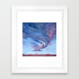 """Clouds #3"" Framed Art Print"