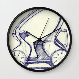 City Commuter 2030 Wall Clock