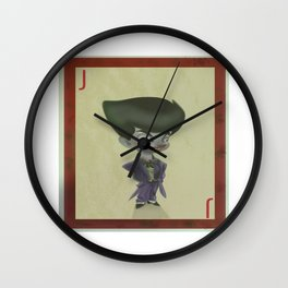 mini joker cards  Wall Clock