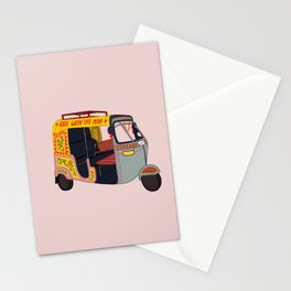 Ride with the Mob Stationery Cards