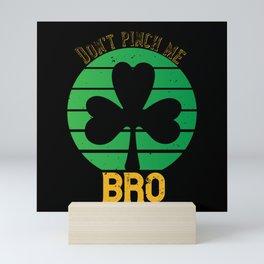 St Paddy - Luck Of The Irish - Quote 07 Mini Art Print