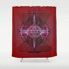Vase ? Shower Curtain