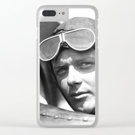 Charles Lindbergh - © Doc Braham; All Rights Reserved. Clear iPhone Case