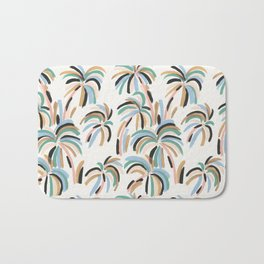 Rainbow Palm Bath Mat