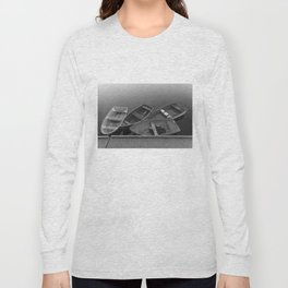 Four Skiffs B&W Long Sleeve T-shirt