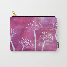Alliums in Red Carry-All Pouch