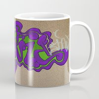 david fleck Mugs featuring david by SirReal