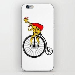 Giraffe Santa Chritmas iPhone Skin