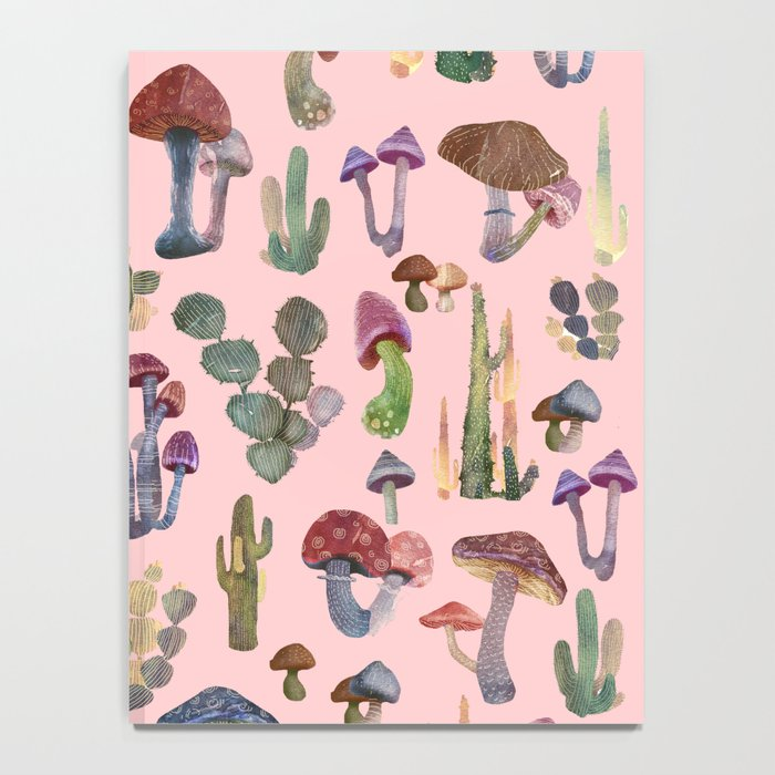 cactus and mushrooms II!! Notebook