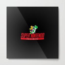 Super Nintendo Metal Print