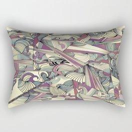 When my Mind Goes Boom. Rectangular Pillow