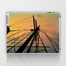 We Sail at Dawn Laptop & iPad Skin