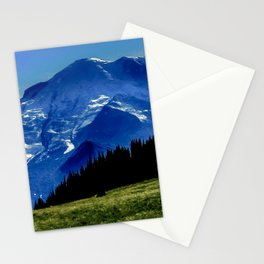 Mount Rainier in the Distance Stationery Cards