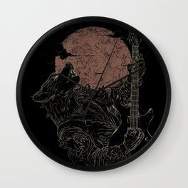 The Rock Werewolf Wall Clock