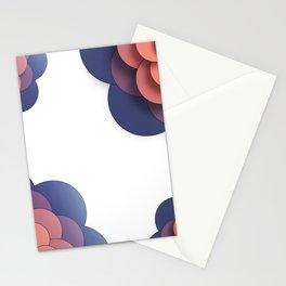 Floral // Border Stationery Cards